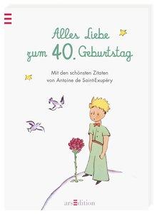 Alles Liebe zum 40. Geburtstag