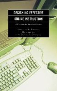 Designing Effective Online Instruction