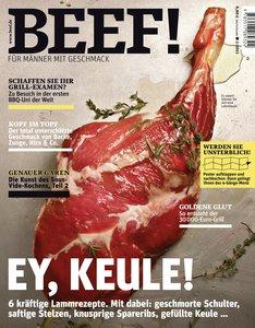 BEEF! - Für Männer mit Geschmack. Ausgabe 2/2013