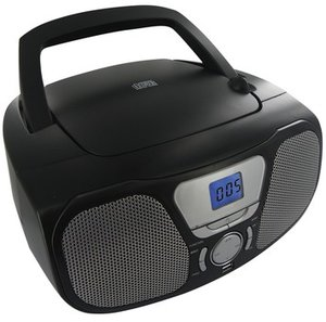 Tragbares CD/MP3/Radio CD46USB, schwarz