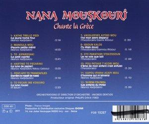 Nana Mouskouri,Sängerin der Griechen