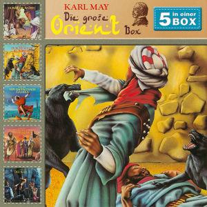 Karl May: 5-CD Orient Hörspielbox