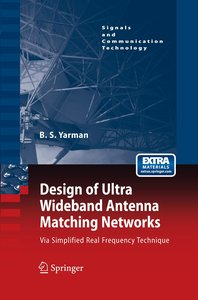 Design of Ultra Wideband Antenna Matching Networks
