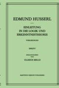 Einleitung in die Logik und Erkenntnistheorie Vorlesungen 1906/0