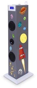 Sound Tower TW5 - Multimedia-Turmlautsprecher, silver (inkl. Sti