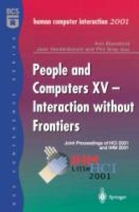 People and Computers XV - Interaction without Frontiers