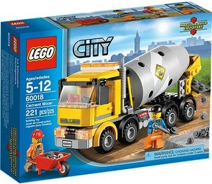LEGO® City 60018 - Betonmischer
