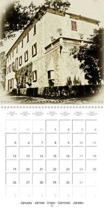 A country estate on Mallorca (Wall Calendar 2015 300 × 300 mm Sq
