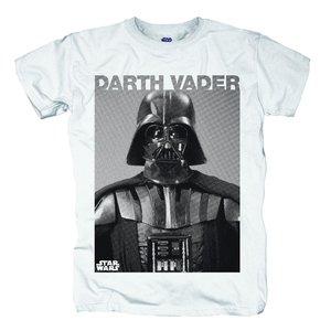 Darth Vader Photo,T-Shirt,Größe XL,Weiß