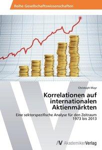 Korrelationen auf internationalen Aktienmärkten