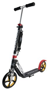 Hudora 14759 - Big Wheel RX-Pro 205, EM Scooter, schwarz/rot/gol