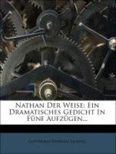 Nathan der Weise: dritte Auflage