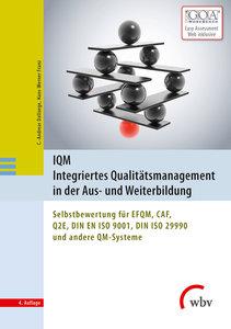 IQM Integriertes Qualitätsmanagement in der Aus- und Weiterbildu