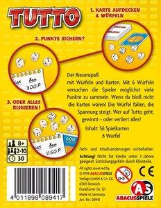 Abacusspiele 08941 - Tutto!