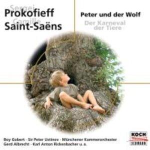 Peter & Der Wolf/Der Karneval Der Tiere