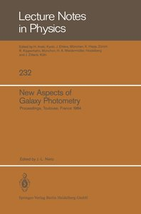 New Aspects of Galaxy Photometry