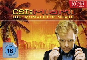 CSI: Miami - Season 1-10 Komplettbox