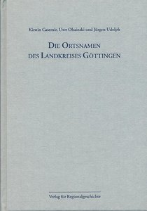 Niedersächsisches Ortsnamenbuch Teil 06. Die Ortsnamen des Landk