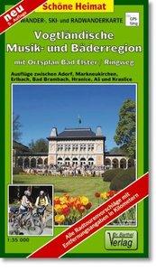 Vogtländische Musik- und Bäderregion 1 : 35 000