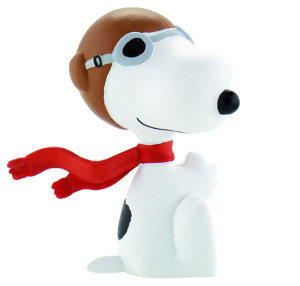 Peanuts Figur Flying Ace Snoopy 5 cm