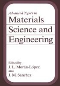 Advanced Topics in Materials Science and Engineering