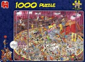 Im Zirkus. Puzzle 1000 Teile