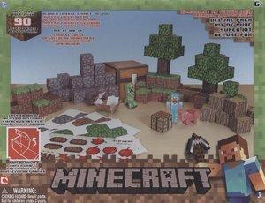 Minecraft 16721 - Overworld Deluxe Set, Papierwelt, 225 Teile