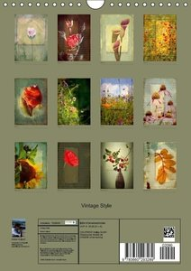 Vintage Style (Wandkalender 2014 DIN A4 hoch)