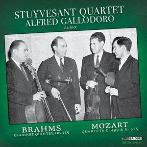 Brahms: Clarinet Quintet-Mozart: String Quartets