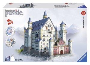 Ravensburger 12573 - Schloss Neuschwanstein, 216 Teile 3D Puzzle