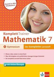 KomplettTrainer Mathematik 7. Klasse Gymnasium