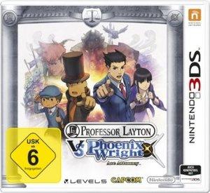 3DS Layton vs. Wright. Für Nintendo