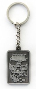 Watch Dogs - Schlüsselanhänger / Keychain - Skull