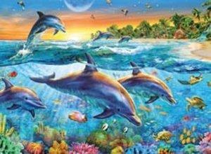 Bucht der Delfine. Puzzle 500 Teile