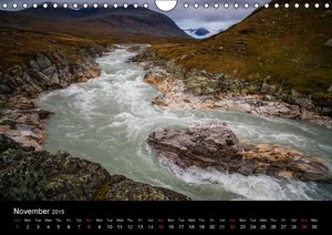 The last Wilderness in Europe. The Sarek Calendar 2015 / UK-Vers