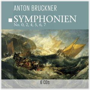 Symphonien (Nr.0,2,4,5,6,7)-A.Bruckner