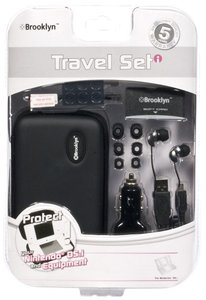 Brooklyn - Travel Set - Schwarz (NDSi/DSlite)