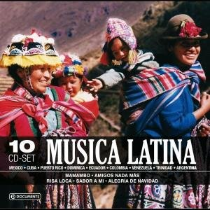 Musica Latina-10 CD Wallet Box