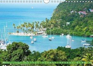 Inselparadiese der Karibik (Wandkalender 2018 DIN A4 quer)