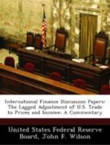 International Finance Discussion Papers: The Lagged Adjustment o