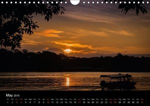 Costa Rica Colours and Light (Wall Calendar 2015 DIN A4 Landscap
