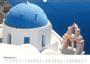 Hellas - a sea of colors / UK-Version (Wall Calendar 2015 DIN A3