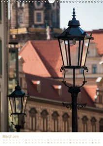 Dresden Street Lamps UK-Version (Wall Calendar 2015 DIN A3 Portr