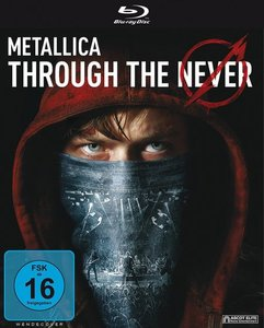 Metallica Through The Never-Blu-ray
