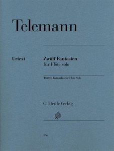 Zwölf Fantasien für Flöte solo TWV 40:2-13