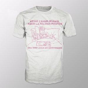 Das Sind Auch So Existenzen (Shirt L/White)