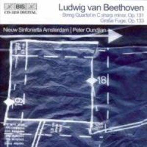 Streichquartett op.131 Und Grosse Fuge op.133
