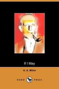 If I May (Dodo Press)