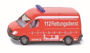 SIKU 0805 - Krankenwagen, 112 Rettungsdienst