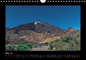 Tenerife Island Magic in the Atlantic (Wall Calendar 2015 DIN A4